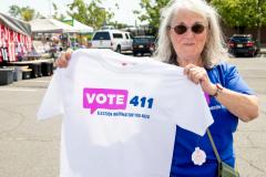 vote 411tee