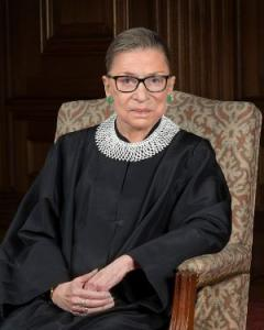 Photo of Ruth Bader Ginsberg
