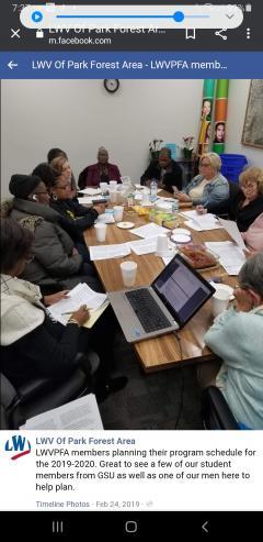 Program planning for 2019-2020