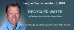 Recycled Water: A Reliable Supply in Unreliable Times