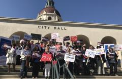February League Day at City Hall