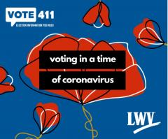 Voting in time of Coronavirus Image