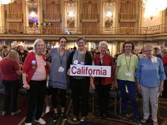 California Participants at the LWV National Convention 2018