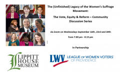 2020 Lippitt House Conversation series