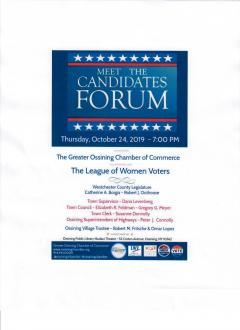 Ossining Candidate Forum