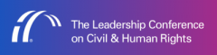 Logo of Leadership Conference on Civil & Human Rights