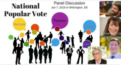 National Popular Vote panel discussion