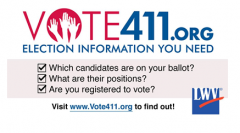 VOTE411.org Election information you need