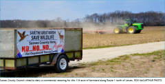 Farmland on which Overbrook Shopping Center was proposed