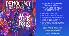 DE Poll workers needed