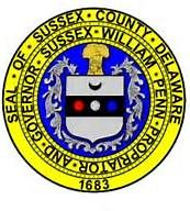 The seal of Sussex County Delaware
