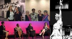 Panel at Bullock Museum Suffrage Centennial event