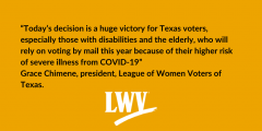 Big win for Texas voters!