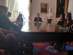 LWV meets with Vermont Governor Scott 2018
