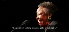 Juliette Holmes speaks to the Moth about Voting rights in her family history