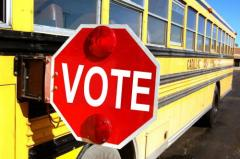 Voting School Bus