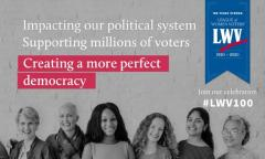 100 Years Strong - The League of Women Voters