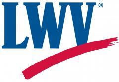 LWV logo color open