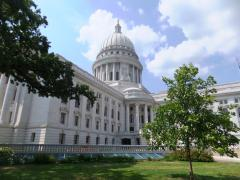 Wisconsin Capitol July