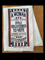 19th Amendment Tea Towel