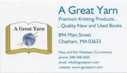 A Great Yarn - Premium Knitting Products