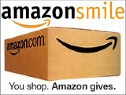 amazon smile logo with box