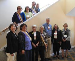 LWVCC Board at LWVMA convention