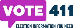Vote411 Election Information logo