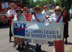 Members of the Redding League of Women Voters