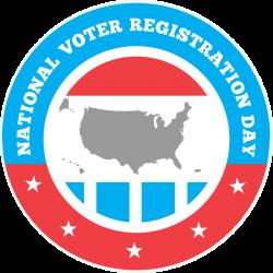 National Voter Registration Day - Tuesday, September 24, 2019