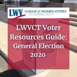 LWVCT Voter Resources Guide 2020 Image