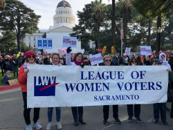 2020 Sacramento Women's March