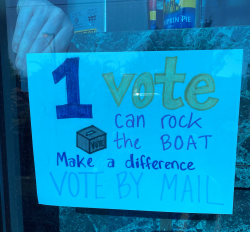 One vote can rock the boat!
