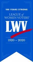 LWV Centennial Banner