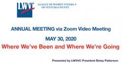 LWVVC 2020 Mtg