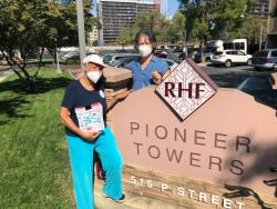 Pioneer Towers Voter Education