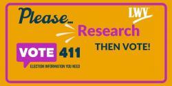 VOTE411 - Research