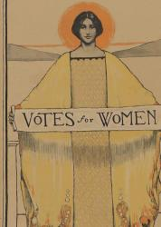 Catalog Cover of Votes for Women Exhibition at DC Portrait Gallery