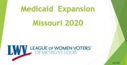 Medicaid Expansion Virtual Presentation