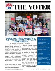 VOTER Newsletter:  Election Edition