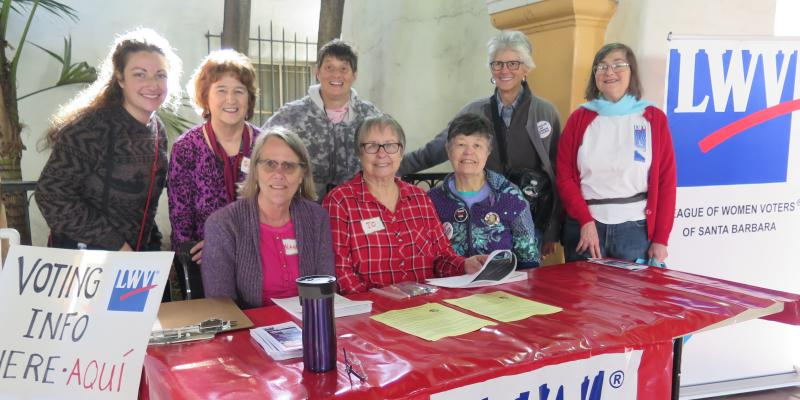 LWVSB Voter Registration Event