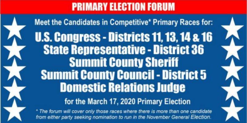 2020 Primary Election Forum