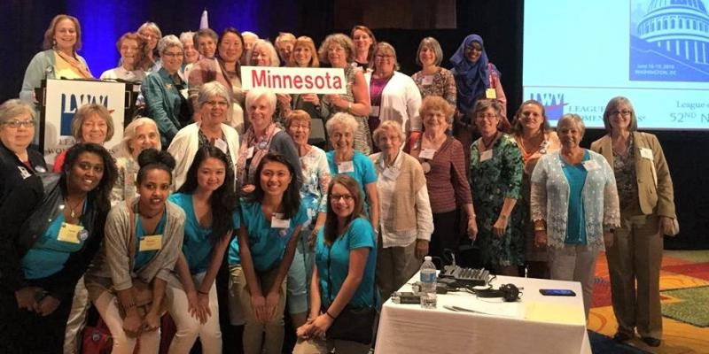 Minnesota LWV members at National Convention