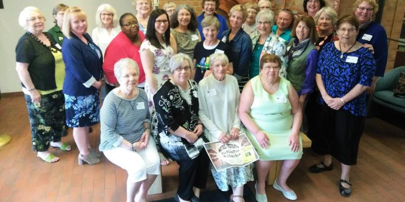 LWV ABC Members at Anoka County History Center, 2019