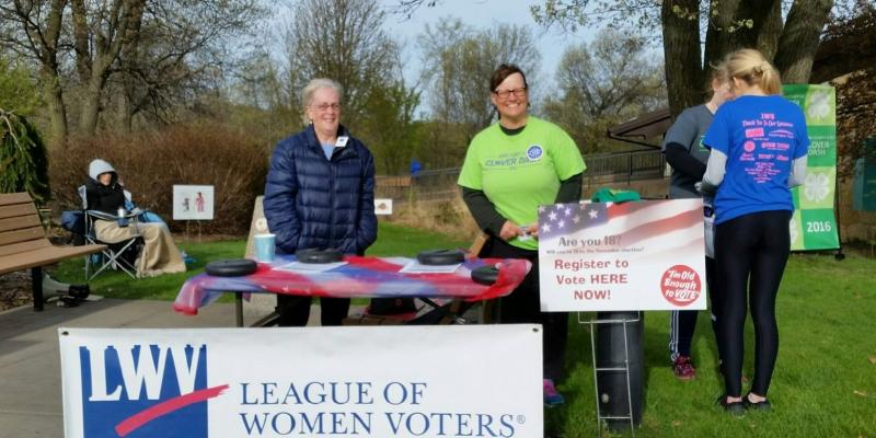 Outdoor Voter Registration