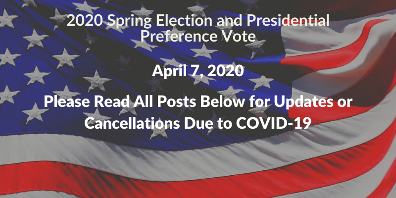 2020 Spring Election