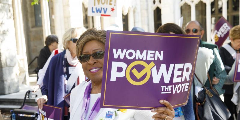 Women of Color Power the Vote