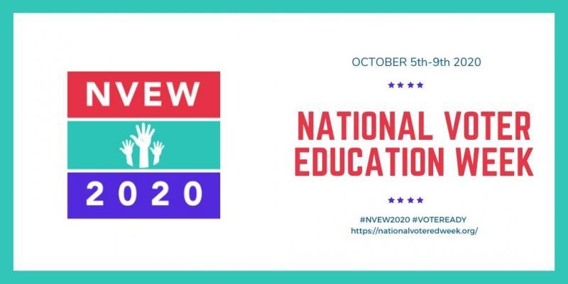 National Voter Education Week