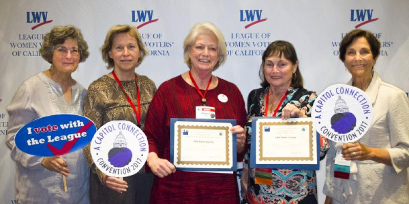 LWV Butte County at 2017 LWVC Convention