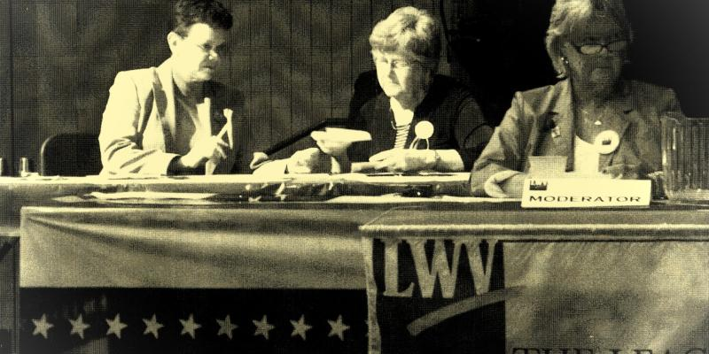LWV Moderating Candidate Forum 2012